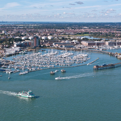Gosport Marina from Spinnaker Tower